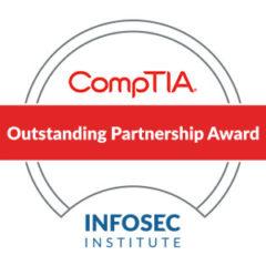 Infosec Institute Receives CompTIA Outstanding Partner Award