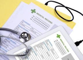 Model Patient Request for Health Information Form Issued by AHIMA