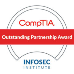 Infosec Institute Receives CompTIA Outstanding Partner Award